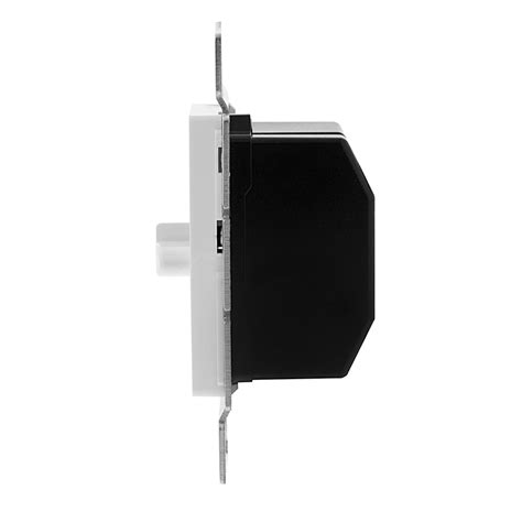 led dual slide switch and dimmer for standard 12v wall