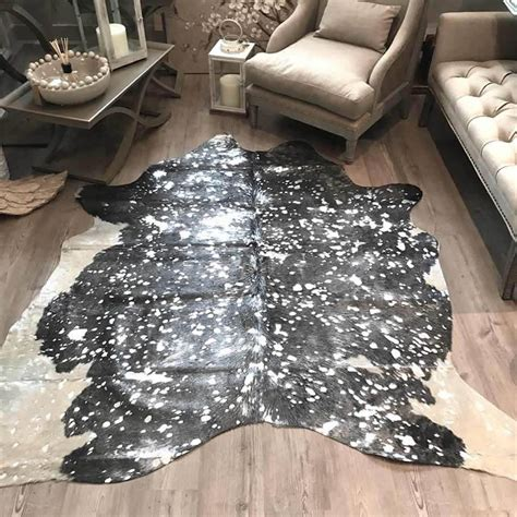 Cowhide Rug Silver by Cowhide Rug Metallic Grey And Silver By Cowshed Interiors