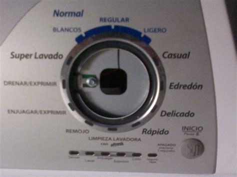 сhoza acogedora personales lavadora whirlpool no hace nada