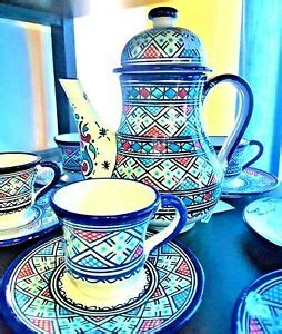 Friends (mostly male) sit outside for hours sipping their arabic coffee as they exchange stories and. Set Of 6 Moroccan Coffee dish, 5 Cups, Works also as Tea Pot | eBay