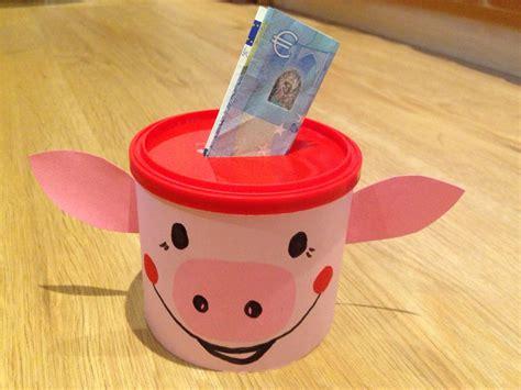 sparschwein selber basteln spardose gl 252 ckschwein geldgeschenk present money diy
