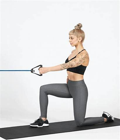 Kneeling Exercises Core Half Strong Exercise Row