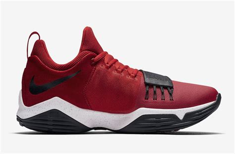 nike pg  university red   release date