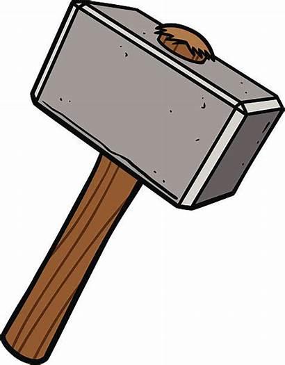 Sledgehammer Vector Hammer Clip Clipart Illustrations Nail