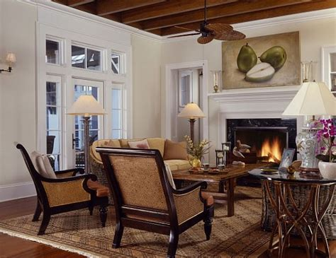 colonial home interior design decorating with a caribbean influence