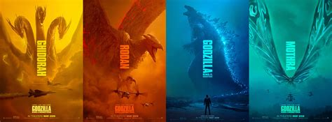I Made An Ultra Wide Wallpaper From The Godzilla Posters