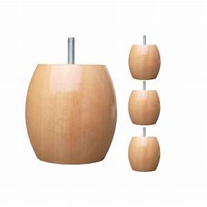 Pied De Lit En Bois : pieds de lit boule ~ Premium-room.com Idées de Décoration
