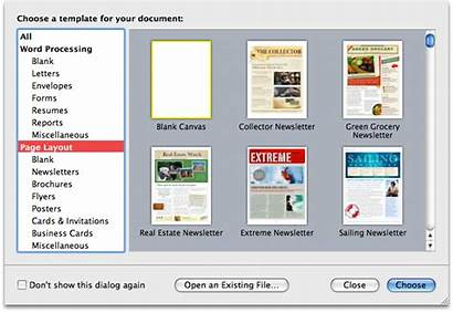 Word Layout 2008 Desktop Publishing Processors Pages