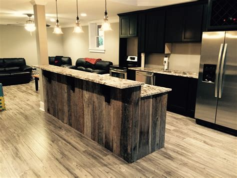 salvaged wood kitchen island barnwood archives atlanta specialty woods