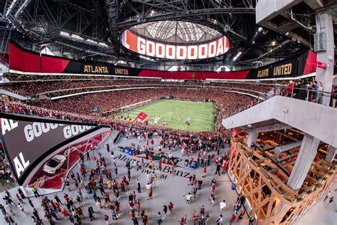 1414 andrew young international blvd nw atlanta, ga 30303. Mercedes-Benz Stadium - Atlanta United FC | Stadium Journey