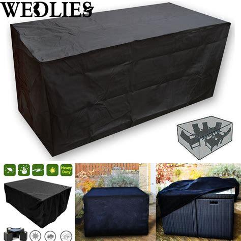 black waterproof outdoor patio furniture set cover garden
