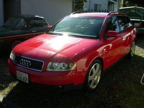 Purchase Used 2004 Audi A4 Quattro Avant Wagon 4-door 1.8l