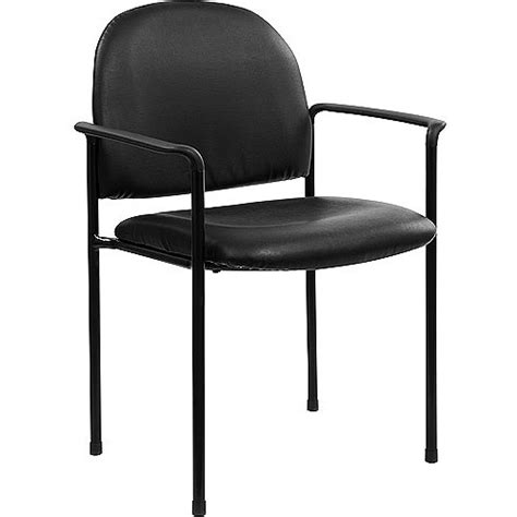 stackable office chairs walmart comfortable stackable steel side chair with arms