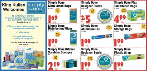 Welcome Simply Done to King Kullen - King Kullen