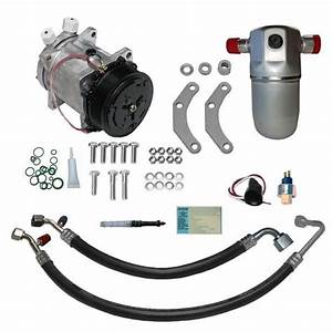91 Gmc Truck A  C Compressor Upgrade Kit V8 Stage