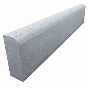 Bordure Beton Jardin : bordure droite b ton gris x cm leroy merlin ~ Premium-room.com Idées de Décoration