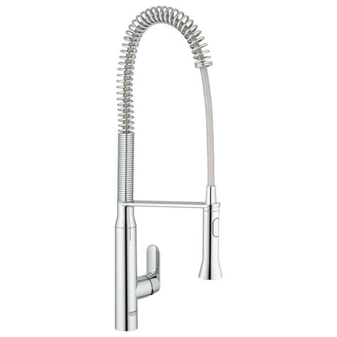 grohe kitchen faucet installation grohe k7 semi pro single handle pull out sprayer kitchen