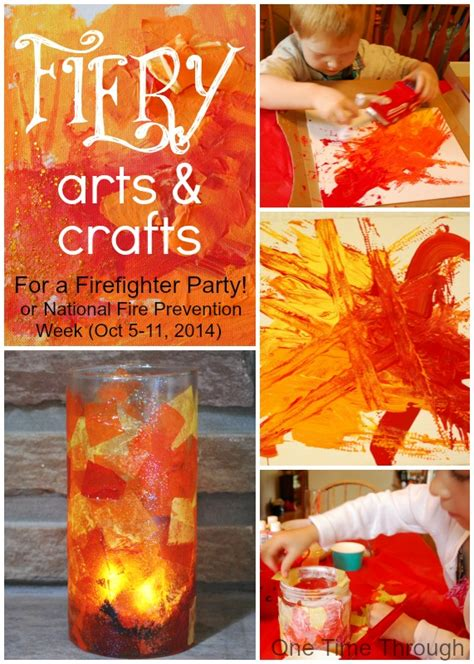 firefighter birthday fiery arts and crafts one 157 | Fiery Arts and Crafts One Time Through
