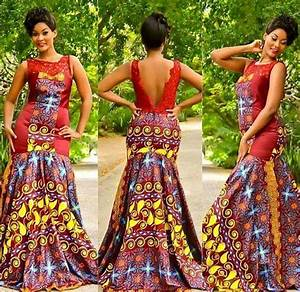 25 Beautiful African Print Maxi Dresses And Gowns For a Wedding Guest CIAAFRIQUE ™ AFRICAN