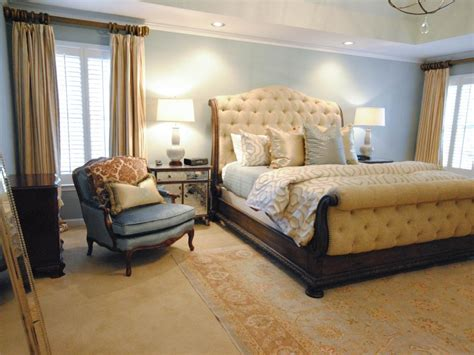 Elegant Yellow Master Bedroom