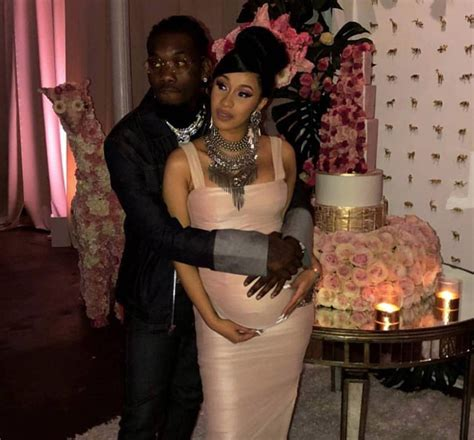 Shower With B by Pics Inside Cardi B And Offset S Extravagant Baby Shower