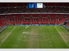 Tottenham fans furious with 'embarrassing' Wembley pitch