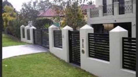 Amazing Wall Fence Designs #2