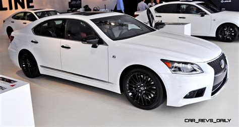 lexus coupe white 2015 lexus ls460 f sport crafted line pebble beach debut