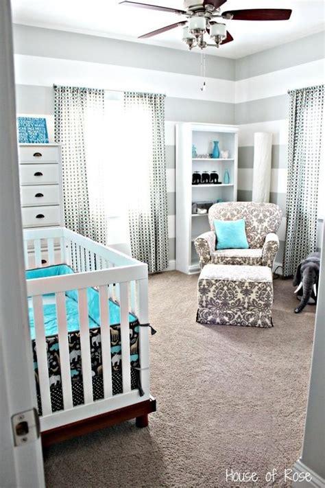 grey and blue nursery idea for christians room baby boy