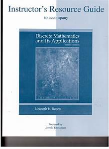 Discrete Math Its Applications 6th Edition Solutions Pdf