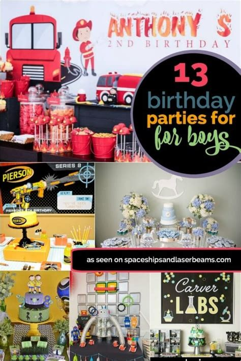 13 Birthday Party Ideas for Boys Spaceships and Laser Beams