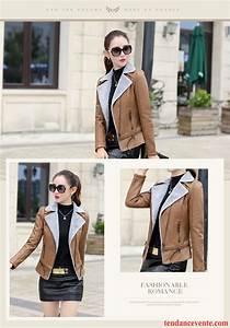blouson cuir femme grande marque plus de velours renforce With marque mode femme tendance
