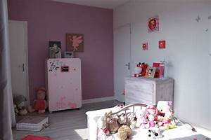 stunning chambre fille couleur vieux rose images With peinture rose chambre fille