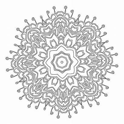 Coloring Mandala Pages