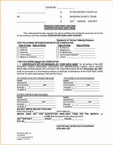 5 free divorce papers in texas divorce document With texas divorce decree template