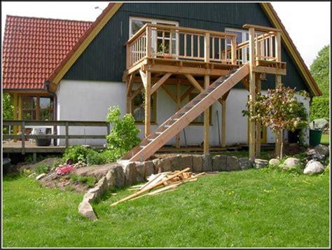 Holz Balkon Selber Bauen by Balkon Treppe Selber Bauen Balkon House Und Dekor