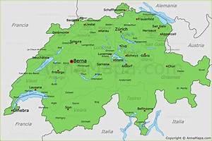 Mapa de Suiza Plano Suiza AnnaMapa