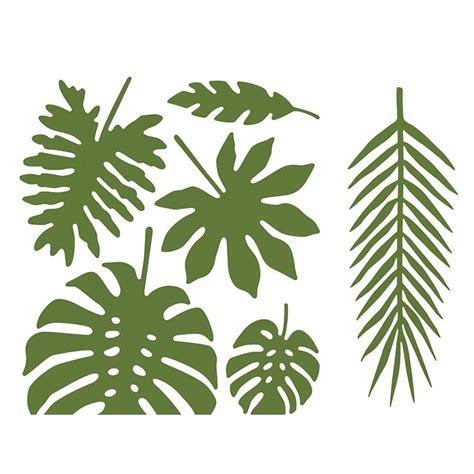 decoration de feuille de papier d 233 coration de feuilles tropicale par 21 modern confetti