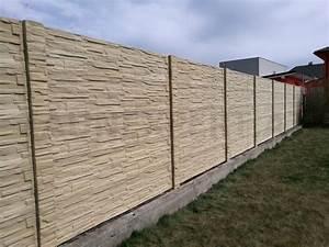 Zaun Aus Beton : betonzaun holzmotiv set 30 m h 200 cm b 200 cm aktion ~ A.2002-acura-tl-radio.info Haus und Dekorationen