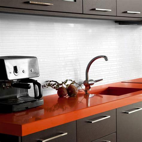 decorative wall tiles kitchen backsplash smart tiles milano blanco 11 55 in w x 9 65 in h peel and stick self adhesive decorative