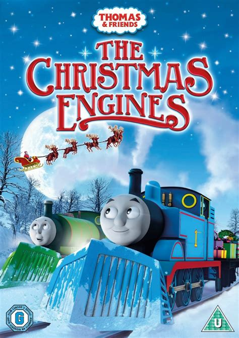 thomas friends  christmas engines dvd