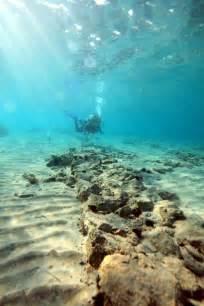 Ancient Underwater Ruins City