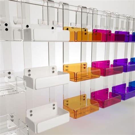 Mensole Doccia by Mensola Tripla Box Doccia In Plexiglass Disponibile In 7