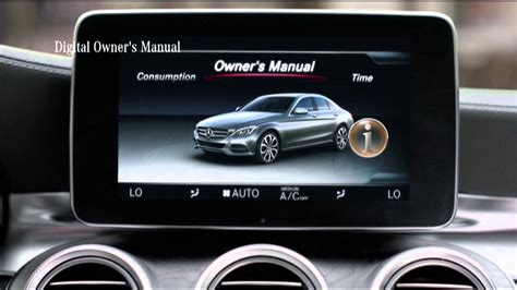 mercedes benz singapore the new c class feature films digital owners manual youtube youtube