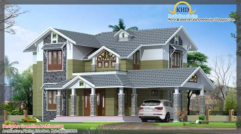 House Design Plans by Kerala Home Design And Floor Plans 16 Awesome House