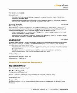free interior design resume templates interior designer With best interior designer resume