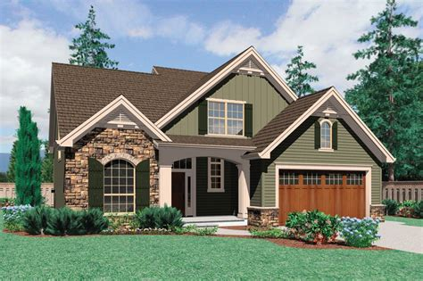 Craftsman Style House Plan 3 Beds 2 5 Baths 2164 Sq/Ft