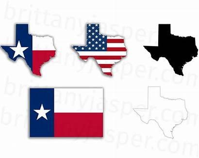 Texas Flag Svg Clipart Clip State Vector