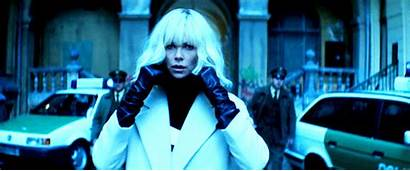 Blonde Atomic Charlize Theron Action Film Looks