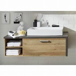 Aufsatzwaschbecken Mit Platte : waschtisch mit unterschrank stehend holz ~ Michelbontemps.com Haus und Dekorationen
